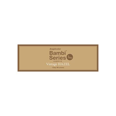 AngelColor Bambiシリーズ Vintage 1day aqua rich ヴィンテージヘーゼル(30枚入り)