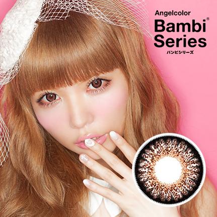 AngelColor バンビシリーズ チョコレート(度あり)(1枚入)