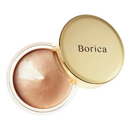 Borica美容液ケアアイシャドウシルキーグロウ01(01 Silky Beige)