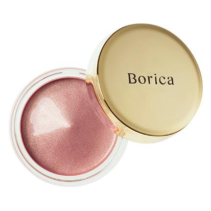 Borica美容液ケアアイシャドウシルキーグロウ02(02 Silky Pink)