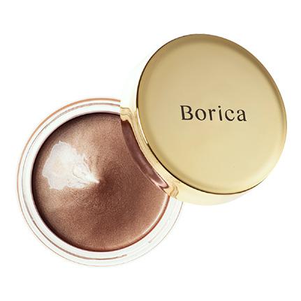 Borica美容液ケアアイシャドウ<シルキーグロウ03(03 Silky Brown)>