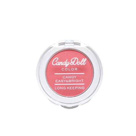 CandyDoll キャンディパウダーチーク 【アプリコットコーラル】
