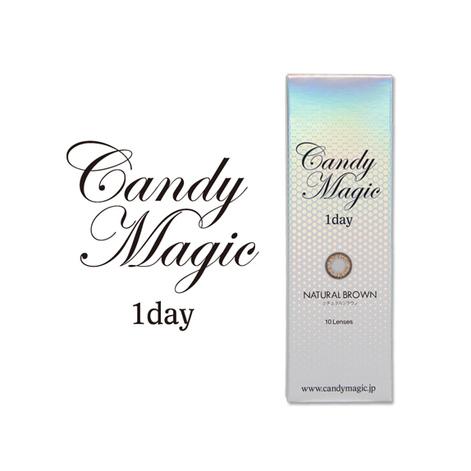 キャンディーマジックワンデー NATURALブラウン(10枚入り)