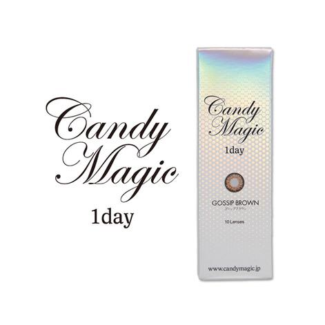 キャンディーマジックワンデー GOSSIPブラウン(10枚入り)