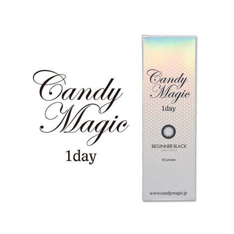 キャンディーマジックワンデー BEGINNERブラック(10枚入り)