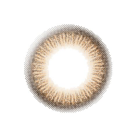 エバーカラーワンデーナチュラル【アプリコットブラウン】(20枚入り)