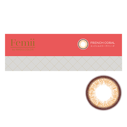 Femii by AngelColor フレンチコーラル(10枚入り)
