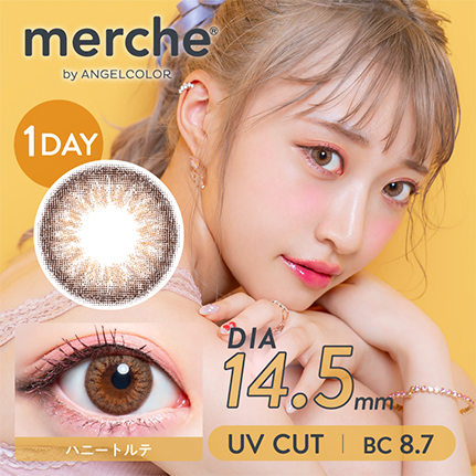 merche by AngelColor 1day ハニートルテ(10枚入り)