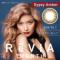 ReVIA 1month ジプシーアンバー 度あり(1枚入り)